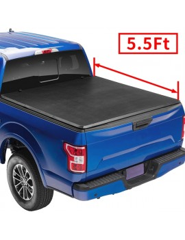 2014-2019 Ford F150 Supercrew double cab  5.5' Bed Soft Tri-fold Tonneau Cover