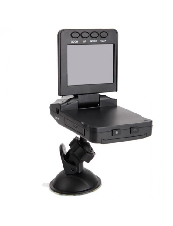 2.5-inches Focusing 6-LED Infrared Night-Vision 270 ° Rotating Screen Traffic Recorder(189 six light