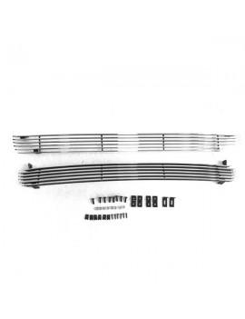 2pcs Main Upper Grilles for Chevrolet Silverado 1500 99-02/Chevrolet Tahoe/Chevrolet Suburban 1500/C