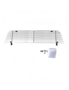 1pc Main Upper Polished Aluminum Car Grille for Ford Ranger 1993-1997 Not For 4WD Chrome