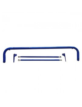 Stainless Steel Seat Guard Rod Blue