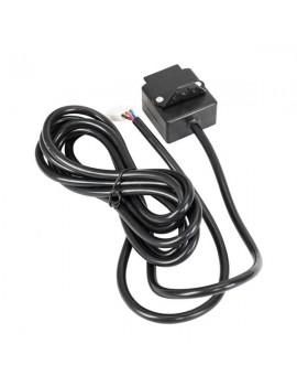 12V 4500LBS ATV/UTV Winch Kit with 50 feet BLACK Synthetic Rope for OSHION