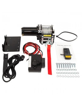 2500lbs Electric Recovery Winch Truck SUV Wireless Remote Control with warranty