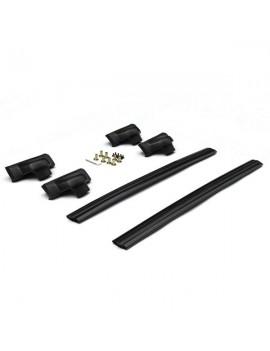 2pcs Aluminum Roof Racks for 2007-2011 Honda CRV Black